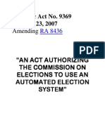 Automated Election