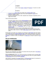 Dw Sulfur Ization