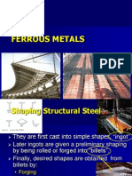 Ferrous Metal Shaping