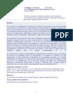 DIVORCIO. Compensación Económica, Concepto y Finalidad.12.09.08.