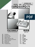 Mesin Fax Sharp