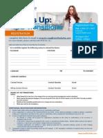ISO Transitions Registration Form