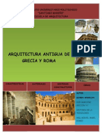 Arquitectura Antigua de Grecia y Roma