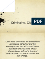 criminal v civil