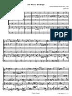 Bach Johann Sebastian Die Kunst Der Fuge Contrapunctus 2485