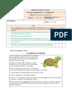 Guia de Aprendizaje Fábulas 4 Básico.
