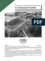 CMU Bulletin 2011 Edition