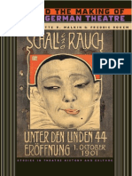 Jews and the Making of Modern German Theatre (Studies Theatre History _ Culture)