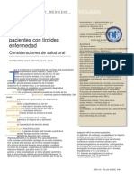 Management of Patients With Thyroid Disease - Oral Health Considerations.en.Es