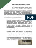 Métodos de Conservación de Almacenamiento de Granos