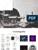 Efecto Raman Cristalografía