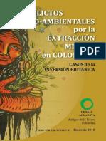 Conflictos Socio-Ambientales Por La Extraccion Minera en Colombia