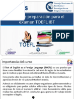 Curso TOEFL