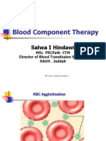 Blood Component Therapy-4th Year MS