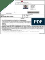 Ongc Admit Card