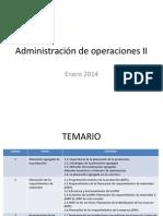AdministracióndeoperacionesII
