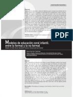 Dialnet-ModelosDeEducacionCoralInfantilEntreLoFormalYLoNoF-2557805