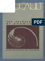 Michel Foucault - Archaeology of Knowledge