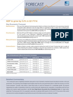 D&B Economy Forecast Press Release for June 2014