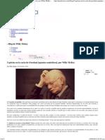 5 Grietas en La Carta de Giordani [Apuntes Semióticos]; Por Willy McKey « Prodavinci