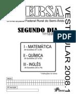 Ufersa20081 Segundo Dia Prova