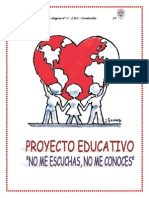 Proyecto Educativo - Sesion 12