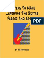 8 Steps To Make Learning The Guitar Easier
