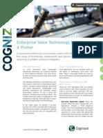 Enterprise Voice Technology Solutions