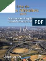 State of African Cities 2010 (L'État Des Villes Africaines 2010)