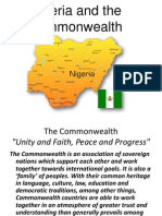 Nigeria and the Commonwealth