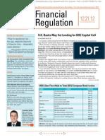 U.K. Banks May Cut Lending for BOE Capital Call