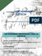 Derechos Humanos y Justicia PUC Junio 2013