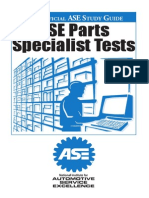 Ase Study Guide- Parts Specialist (P2)