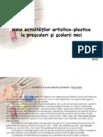 Activitati Artistico-plastice Powerpoint