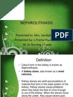 Nephrolithiasis Ms
