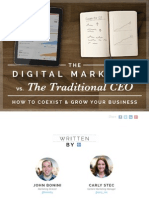 Digital Marketer vs Traditional
