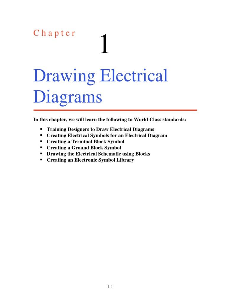 Incredible Ch1 Drawing Electrical Diagrams Switch Electricity Wiring 101 Akebretraxxcnl