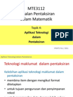 4.Aplikasi Teknologi Dlm Pentaksiran