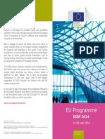 EU programme at ESOF