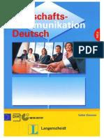 Wirtschaftskommunikation Deutsch Lehrbuch