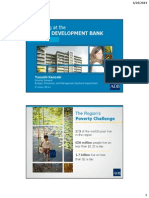 「アジア開発銀行で働く」(2014年6月9日)