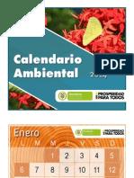 Calendario ambiental 2014
