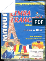 Franceza clasa a III a