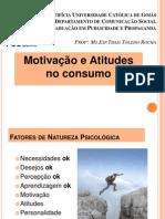 Aula 5 -Fatores Internos Que Influenciam o Consumo - Motivação e Atitudes (1)