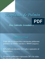 Neoplasia de pulmon