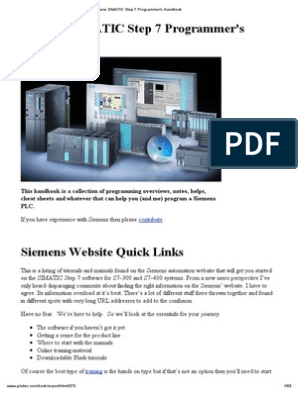 Siemens Simatic Step 7 Programmers Handbook   Trigonometric