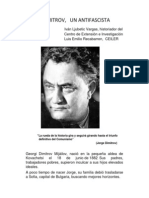 JORGE DIMITROV,   UN ANTIFASCISTA