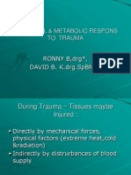 Hormonal & Metabolic Respons of Trauma