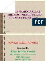 Power Electronics Overview