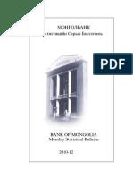 Mongol Bank Statistics 2010.12